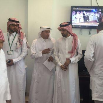 مستشفى الصحة النفسية بالقصيم يقيم حفل معايدة للنزلاء صبيحة يوم عيد الفطر المبارك