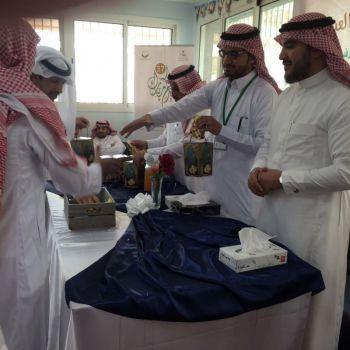 مستشفى الصحة النفسية بالقصيم يحتفل مع نزلائه ثاني أيام العيد.