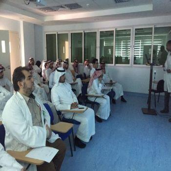 مستشفى الصحة النفسية يقيم محاضرة بعنوان ( التحليل الرباعي SWOT )