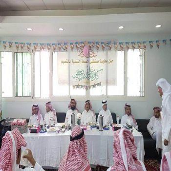 مستشفى الصحة النفسية يواصل تفعيل برامج العيد للنزلاء بحضور لجنة أصدقاء المرضى .