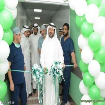 المدير العام يفتتح فرع الجمعية السعودية لجراحة المناظير بالقصيم