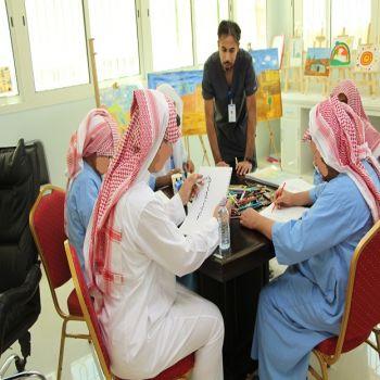 الصحة النفسية بالقصيم تقيم برنامج متكامل لنزلائها في رمضان .