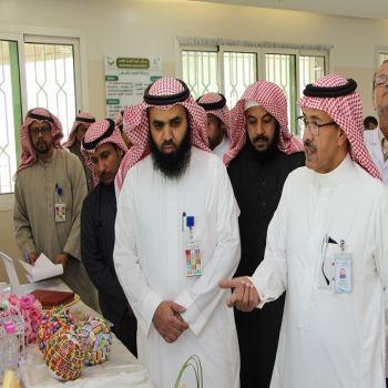 معرض وفعاليات بــ الصحة النفسية بالقصيم للتوعية بالسرطان .