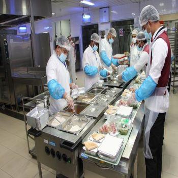 ( 64034 ) وجبة للنزلاء مستشفى الصحة النفسية خلال الربع الثاني لعام  2018 م