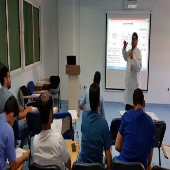 """مستشفى الصحة النفسية بالقصيم يحاضر عن مستجدات """" كورونا """""""